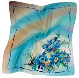 AM-129 Hand-painted Silk Scarf