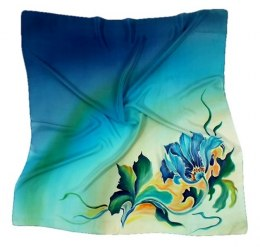 AM-149 Hand-painted Silk Scarf