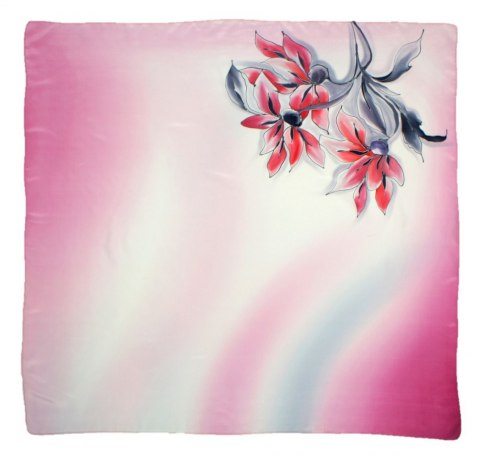 AM-316 Hand-painted Silk Scarf