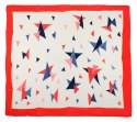 AM-442 Hand-painted silk scarf, 90x90cm
