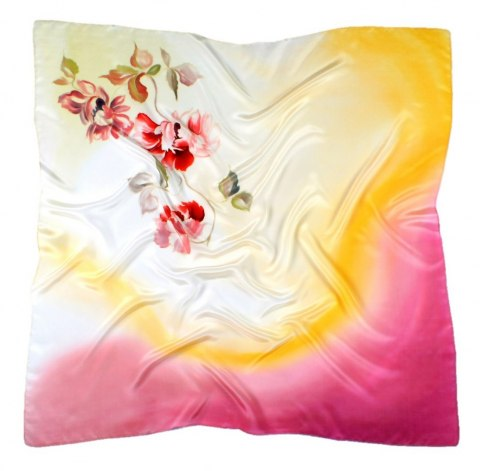 AM-325 Hand-painted Silk Scarf