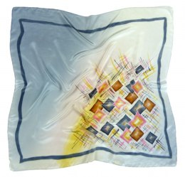 AM-369 Hand-painted Silk Scarf