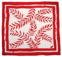 AM-474 Hand-painted silk scarf, 90x90cm