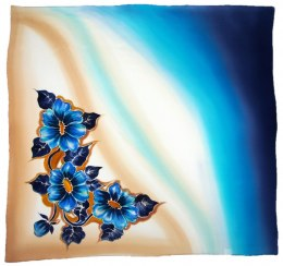 AM-479 Hand-painted Silk Scarf