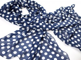 SZZ-011 One-color silk scarf - Georgette, 200x65cm