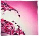 AM-669 Hand-painted silk scarf, 90x90cm