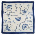 AM7-455 Hand-painted silk scarf, 70x70 cm