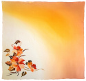 AM-688 Hand-painted silk scarf, 90x90cm