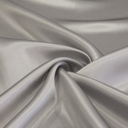 Gray and Stone silk satin scarf, 90x90cm