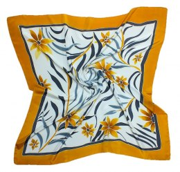 AM-172 Hand-painted silk scarf, 90x90cm