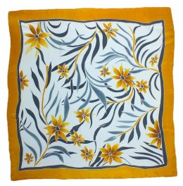 AM-172 Hand-painted Silk Scarf