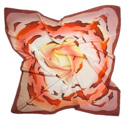 AM-175 Hand-painted Silk Scarf