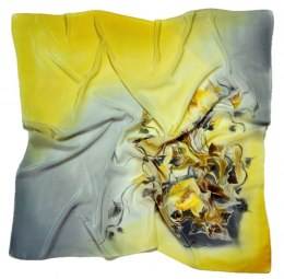 AM7-201 Hand-painted Silk Scarf