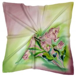 AM-217 Hand-painted Silk Scarf